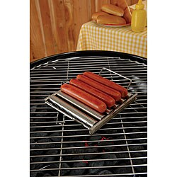 Stainless Steel Hot Dog Roller Rack