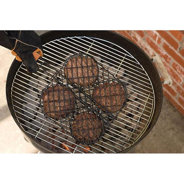 Nonstick Hamburger Grilling Basket