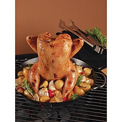 Nonstick Vertical Poultry Roasting Wok