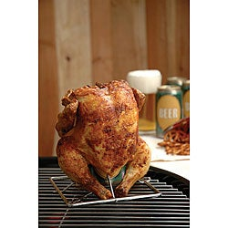 Stainless Steel Beer Can Chicken Rack