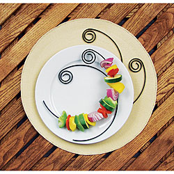 Nonstick Circle Kabob Skewers (Set of 4)