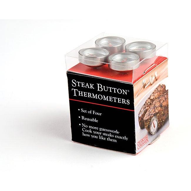 Reusable Steak Button 4-piece Set