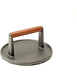 Cast Iron 7-inch Round Grill Press