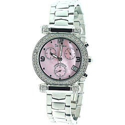 Joe Rodeo Women's Valerie Stainless Steel Diamond Watch