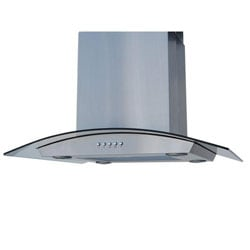 Island Curved Glass 30-inch Range Hood