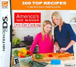 Nintendo DS - America's Test Kitchen: Let's Get Cooking
