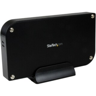 StarTech.com 3.5in Black External USB IDE Hard Drive Enclosure