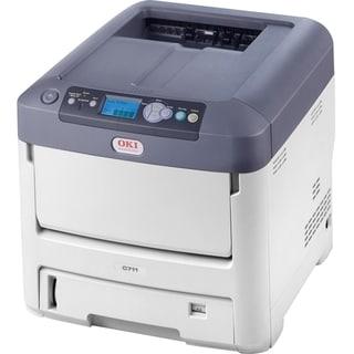 Oki C711N LED Printer - Color - 1200 x 600 dpi Print - Plain Paper Pr
