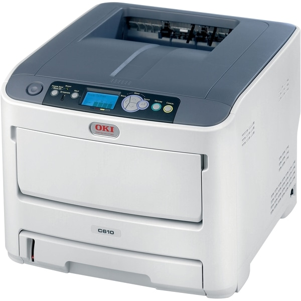 Oki C610N LED Printer - Color - 1200 x 600 dpi Print - Plain Paper Pr