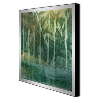 Caroline Ashton 'Imposed Environment I' Framed Metal Art