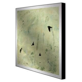 Sara Abott 'I'll Fly Away II' Framed Metal Art