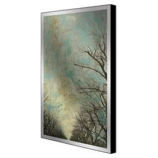 Sara Abott 'Entrancement I' Framed Metal Art