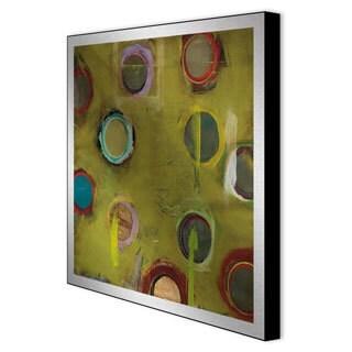 Benjamin Deal 'Invention in Green I' Aluminum Art