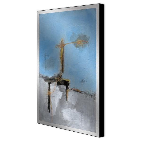 Todd Graham 'Blue Sky I' Aluminum Art