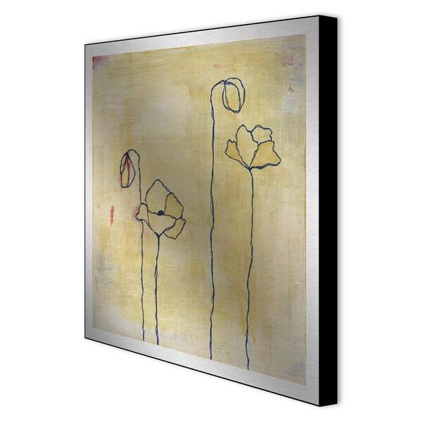 Laura Gunn 'Spring Silhouettes II' Aluminum Artwork