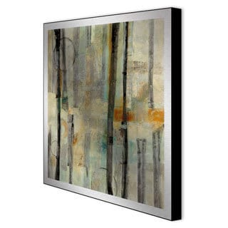 Bellows 'Divided II' Framed Metal Art