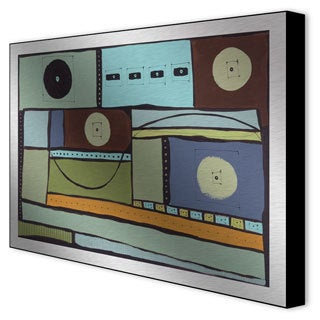 Transference II Framed Print on Metal