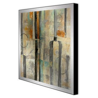 Bellows 'Divided I' Framed Metal Art