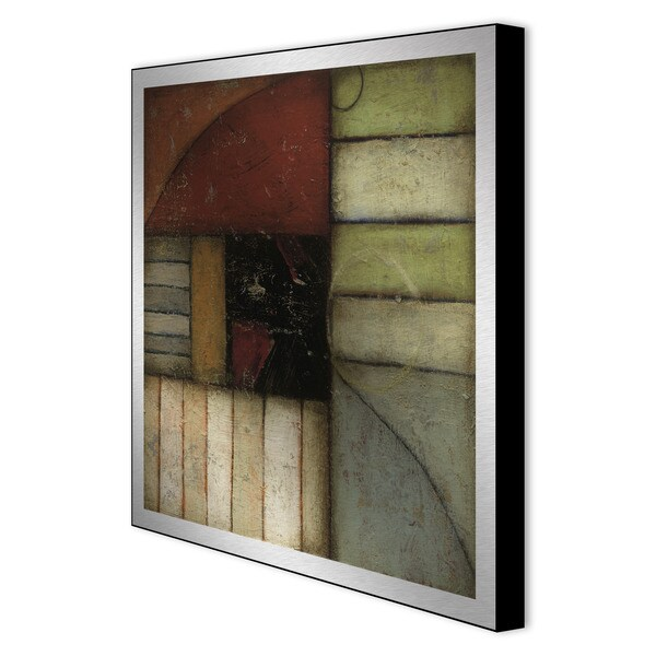 DeRosier 'Exile II' Framed Metal Art