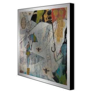 Judy Paul 'Let It Be I' Framed Metal Wall Art