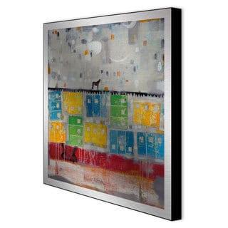 Judy Paul 'Stallion Value' Framed Metal Wall Art