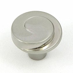 Stone Mill Hawthorne Satin Nickel Cabinet Knobs (Pack of 5)