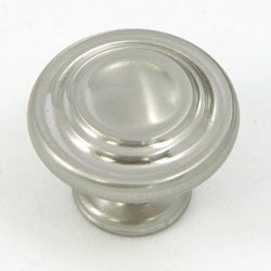Stone Mill Satin Nickel 3-ring Cabinet Knobs (Pack of 5)