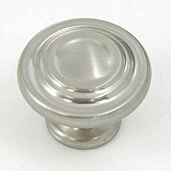 Stone Mill Satin Nickel 3-ring Cabinet Knobs (Pack of 10)