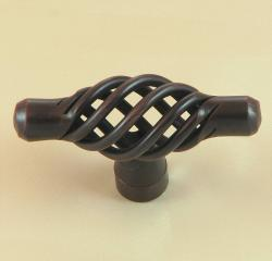Stone Mill Berkshire Oil-rubbed Bronze Birdcage Cabinet Knobs (Pack of 10)