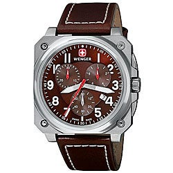Wenger Men's Swiss Military AeroGraph Cockpit Chronograph Watch