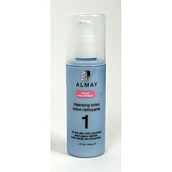 Almay Step 1 for Dry Skin 4-ounce Cleansing Lotion (Pack of 4)