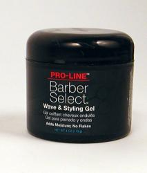Pro-Line Barber Select 4-ounce Wave and Styling Gel (Pack of 4)