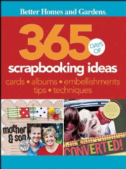 365 Days of Scrapbooking Ideas (Paperback)