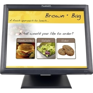 """Planar PT1745R 17"""" LCD Touchscreen Monitor - 5 ms"""