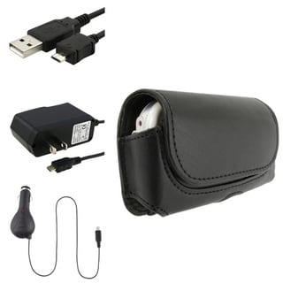 BasAcc Case/ Travel Charger/ Car Charger/ Cable for LG VX9600 Versa