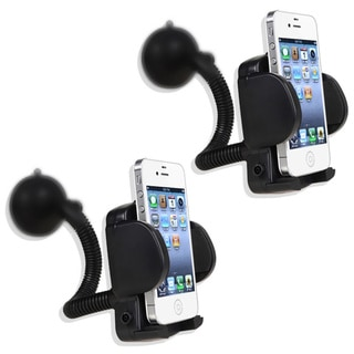 Eforcity 2-piece Universal PDA Smartphone Holder Windshield Mount