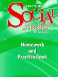 Our Communities: Homework and Practice Book, Grade 3 (Paperback)
