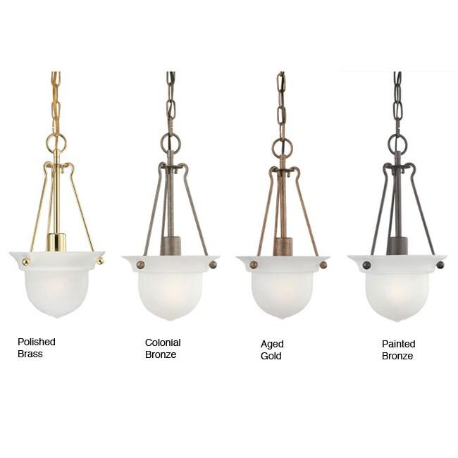 Bells 1-light Foyer Pendant