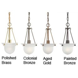 Bells 1-light Foyer Pendant