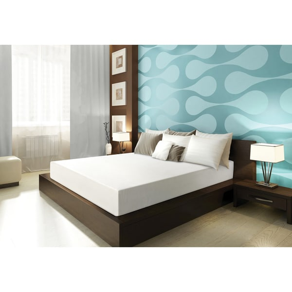 Sarah Peyton Convection Cooled 8-inch Queen-size Memory Foam Mattress