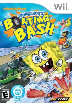 Wii - SpongeBob`s Boating Bash