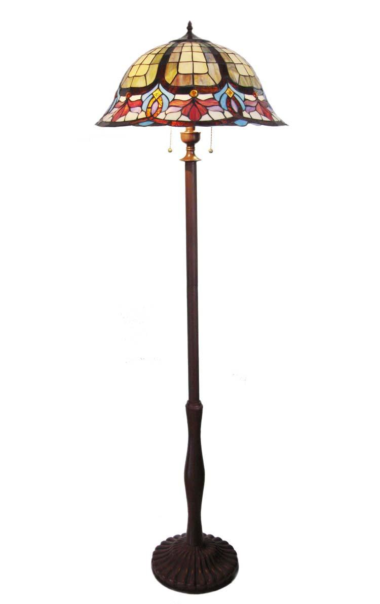 tiffany style victorian design bronze finish floor lamp 11519257. Black Bedroom Furniture Sets. Home Design Ideas