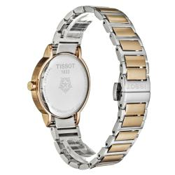 Tissot Women's 'Happy Chic' Rose Goldtone and Stainless Steel Watch