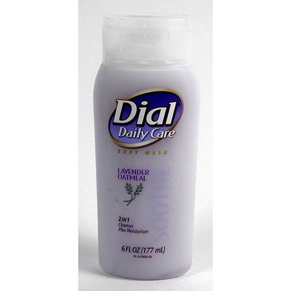 Dial 6-ounce Daily Care Lavender Oatmeal Body Wash (Pack of 4)