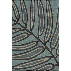 Hand-Tufted Mandara 100 Percent Wool Rug (7'9 x 10'6)