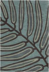 Hand-Tufted Floral Mandara Wool Rug (7'9 Round)