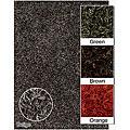 Handwoven 100 Percent Polyester Mandara Shag Rug (5' x 7'6)