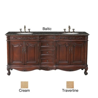 Stufurhome Saturn 72-inch Double-sink Vanity