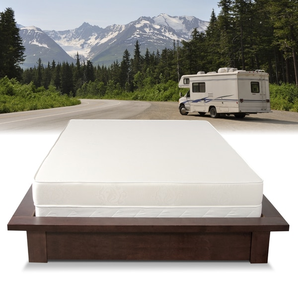 Select Luxury Home RV 6-inch Firm Reversible Short Full-size Foam Mattress