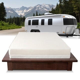 Select Luxury Home RV 6-inch Firm Reversible Short Queen-size Foam Mattress